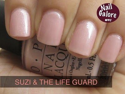 OPI Suzi and The Lifeguard | Nail Polish Colors I Adore ...