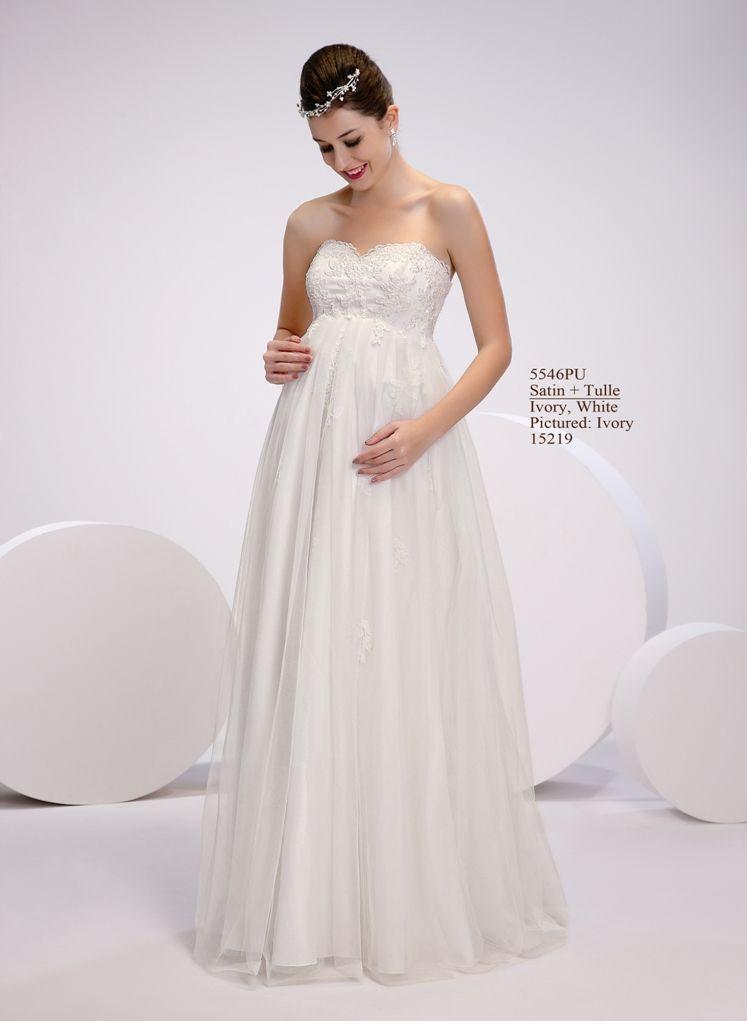 Amelie - Brautkleider für Schwangere Kollektion 2015 | Wedding ideas ...