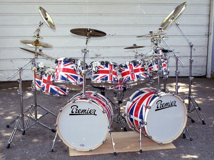 43 Premier Vintage Drum Kits Ideas Vintage Drums Drum Kits Drums