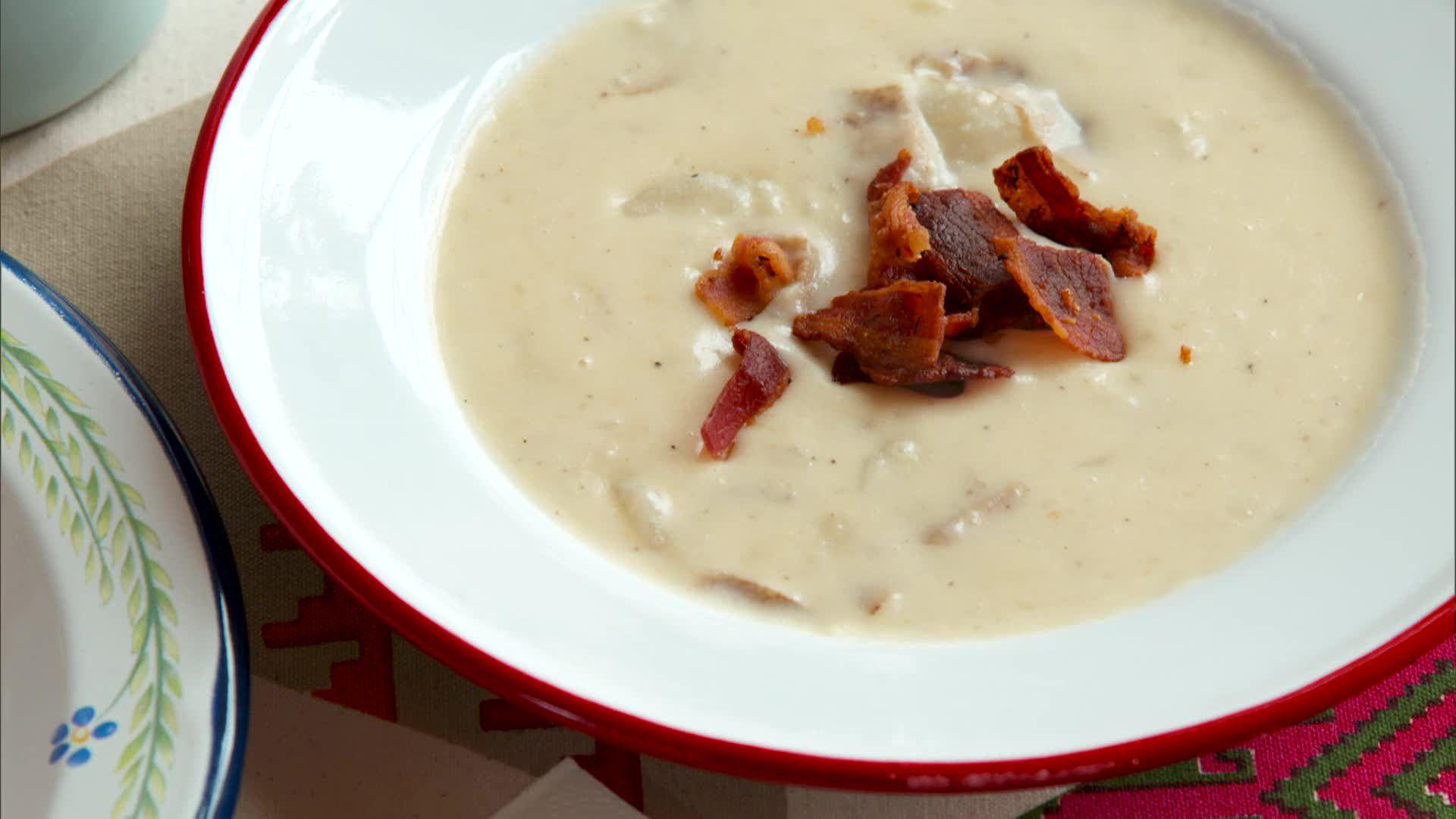 Loaded Potato Soup Recipe Nancy Fuller Food Network