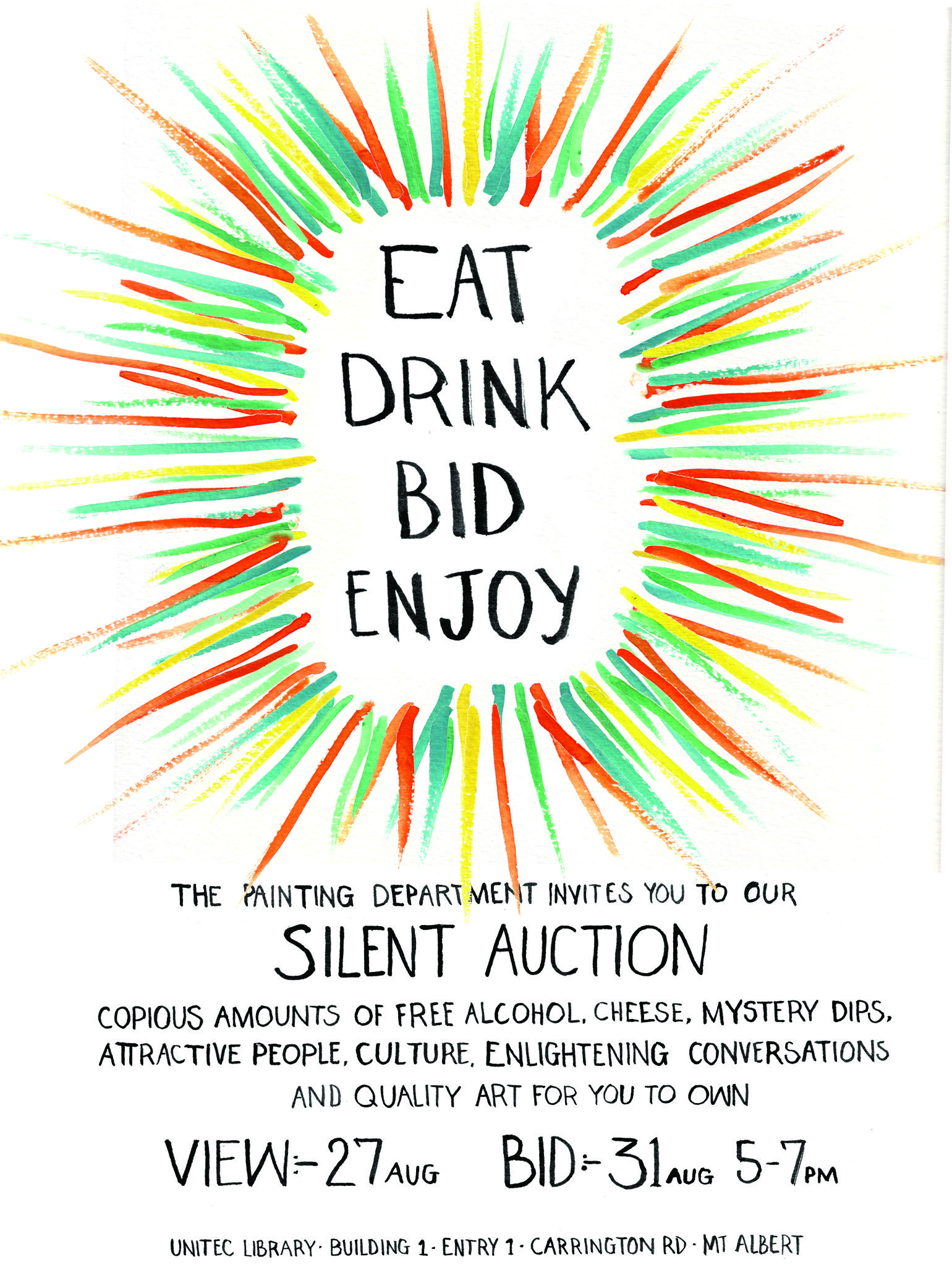 silent auction flyer silent auction ideas pinterest silent