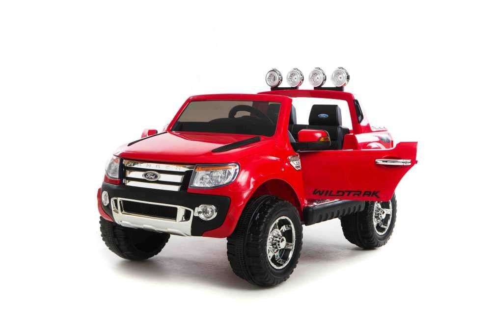 Coche Electrico Ninos 12v Rc Ford Ranger Pickup Rojo 2 4g