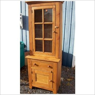 Small China Hutch | Wood Small Stepback Cupboard Reclaimed Wood 895 00  Description Small .. Dining ...