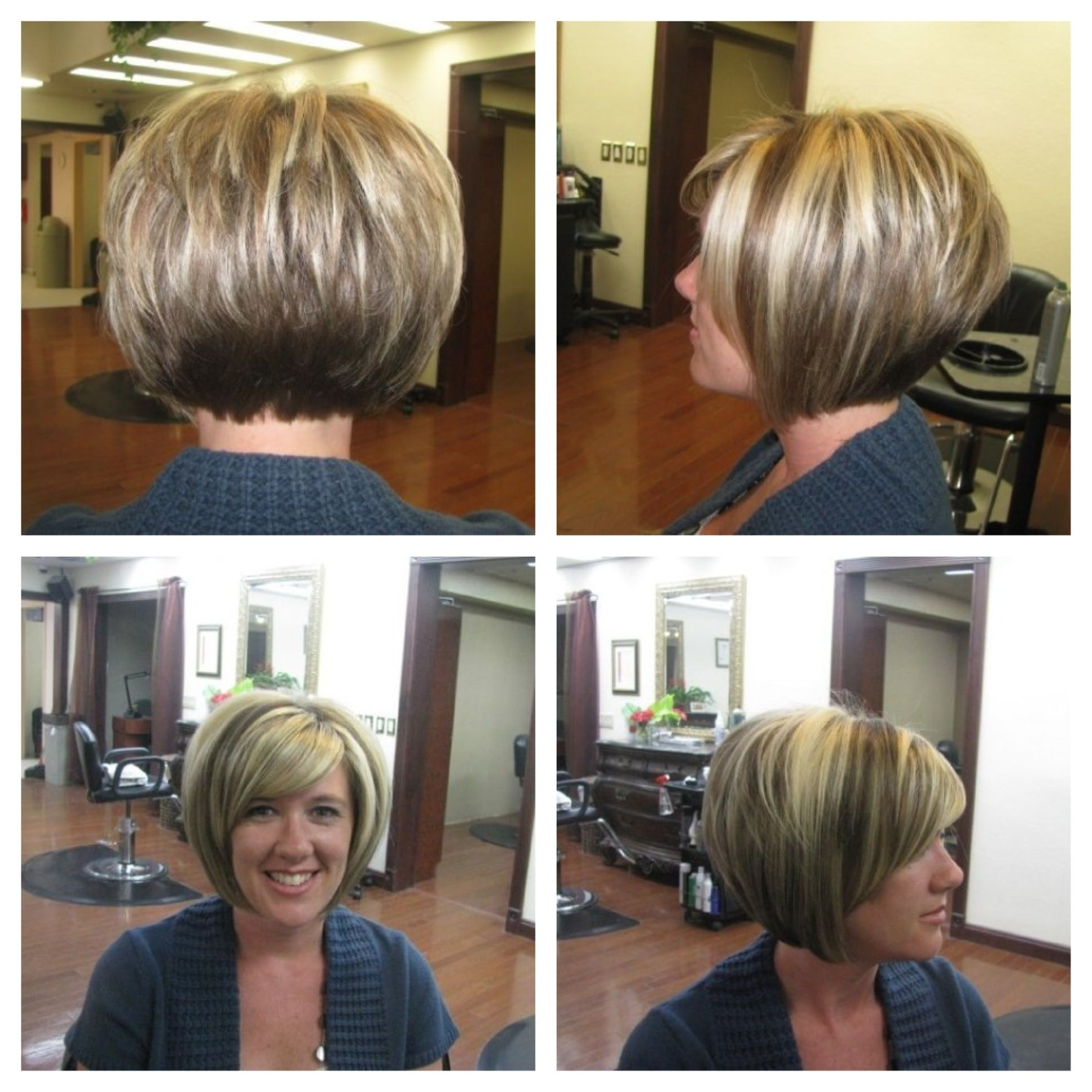 stacked bob hair styles