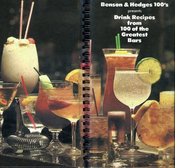 Benson & Hedges 100's Presents Drink Recipes from 100 of ...