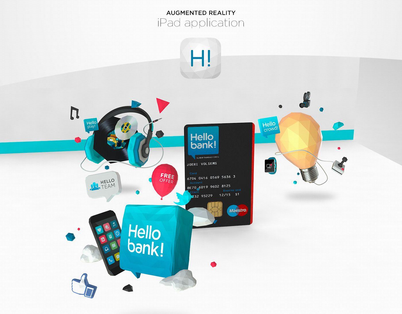 Hello Bank Retail Ar On Behance Hello Retail Fintech