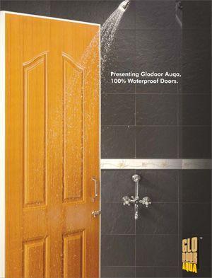 Waterproof Paneled Door For Wet Rooms Glodoor Aqua Abs Moulded