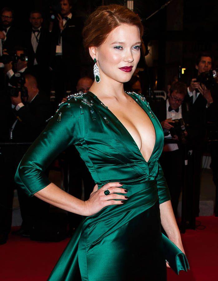 Léa Seydoux : son dressing de James Bond girl | Green | Pinterest