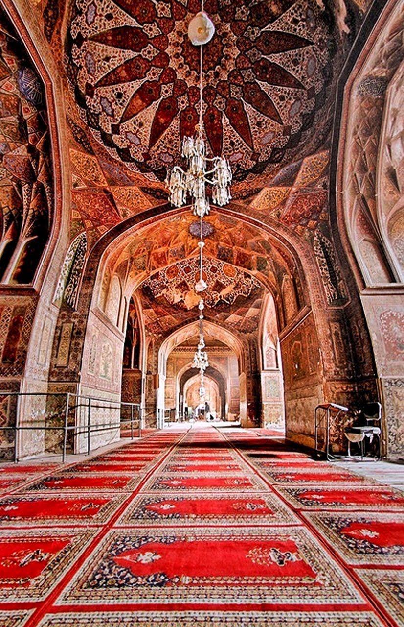 Thats beautiful pakistani mosque travel for Interior designs pakistani