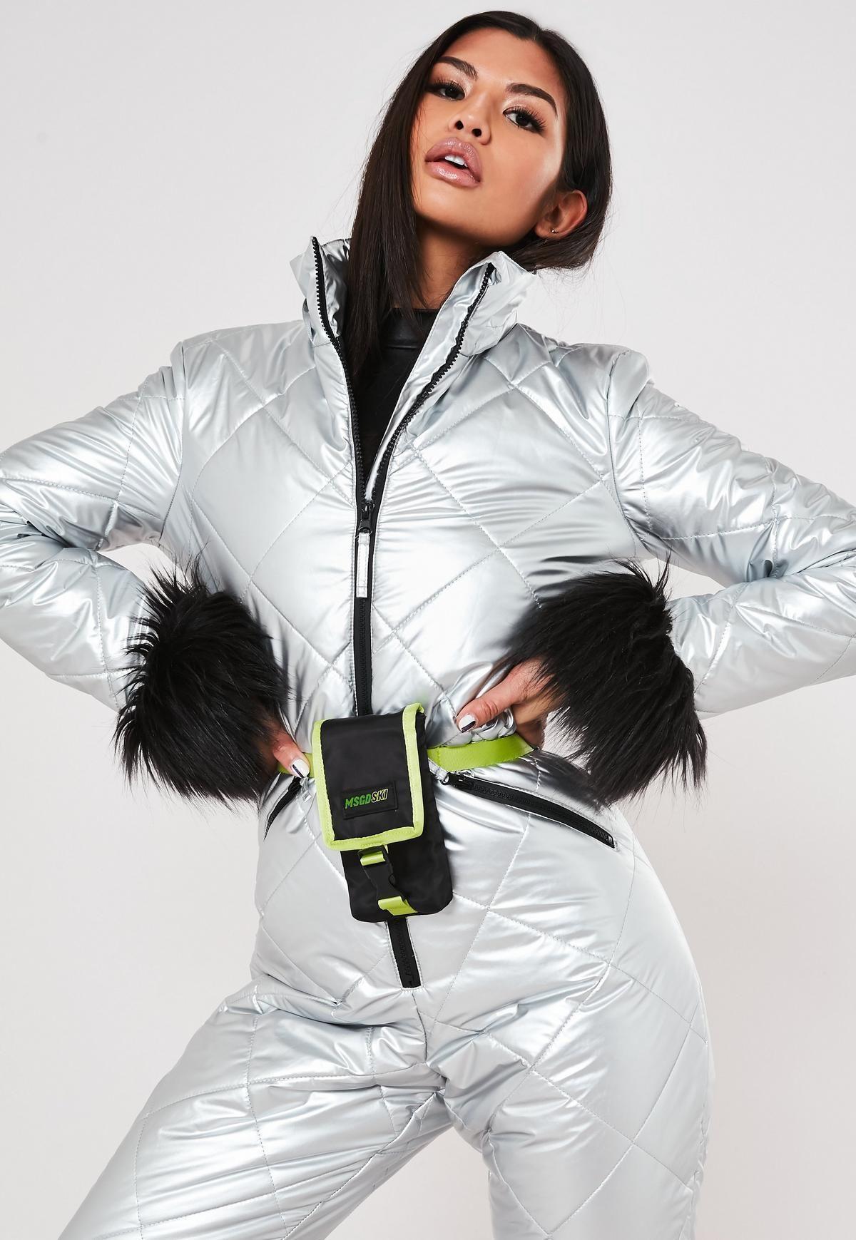 Missguided - MSGD Ski Black Cross Body Bag in 2020   Black ...