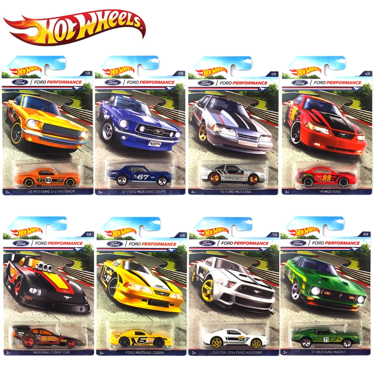 (42.68$)  Watch here - http://aijdp.worlditems.win/all/product.php?id=32798346006 - Hot Wheels Car Collector's Edition Ford Mustang Metal Diecast Cars Collection Kids Toys Vehicle For Children Juguetes