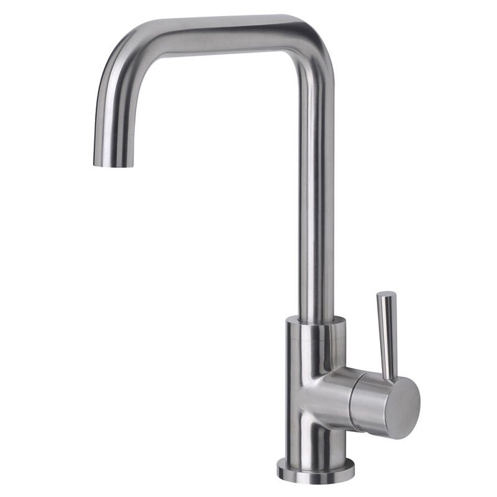 Astini Melo Brushed Stainless Steel LED Kitchen Sink Mixer tap AK177 ...