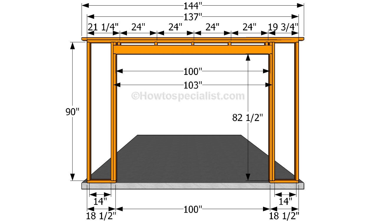 Building the front wall sheds and garage plans for How much to build a small garage