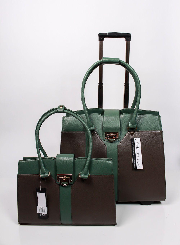laptop designer bags on wheels p d sable collection two. Black Bedroom Furniture Sets. Home Design Ideas
