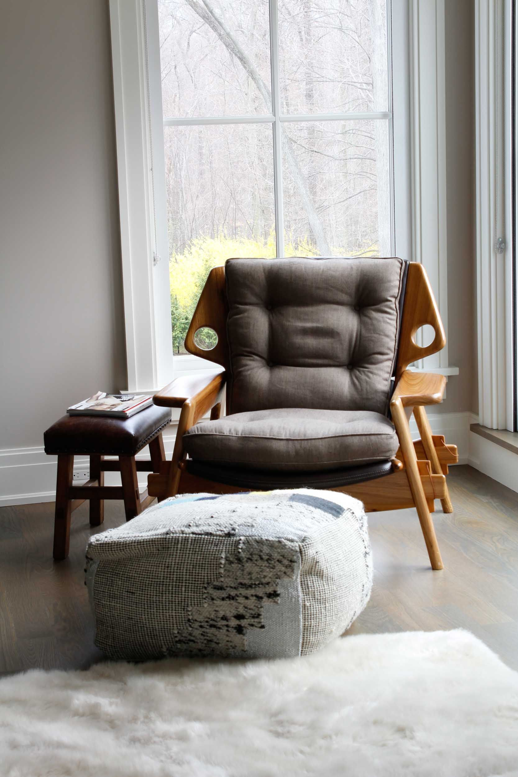 A dynamic home in westport ct filled with beautiful reminders of brazil designsponge sergio rodrigues chair