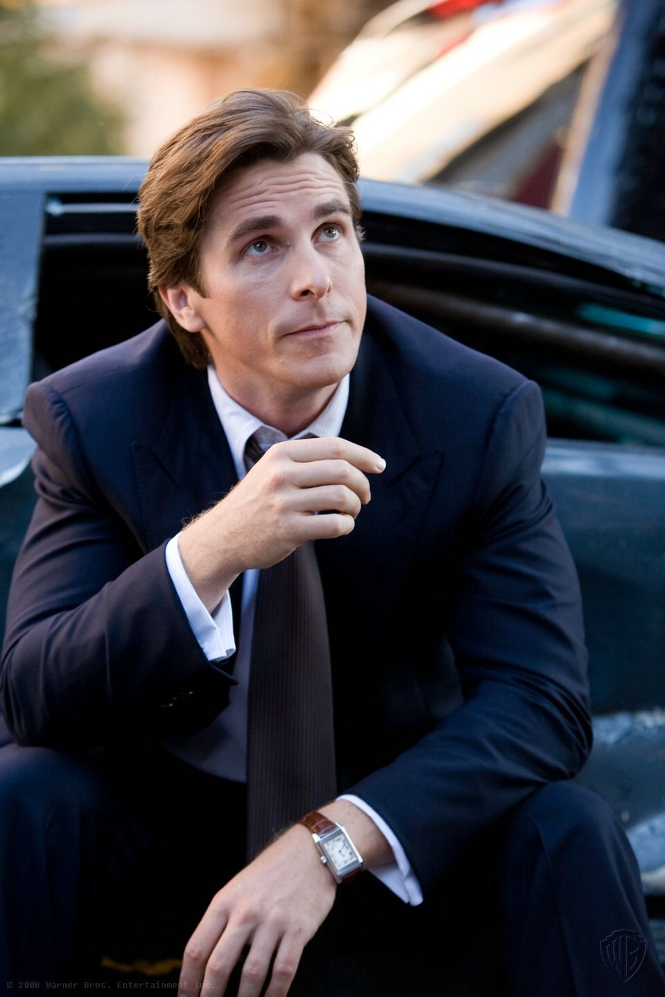 bruce wayne played by christian bale in the dark knight
