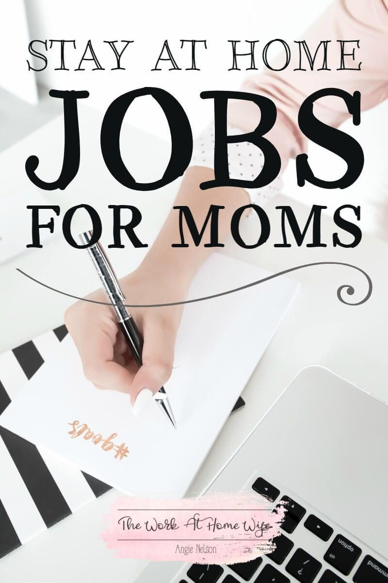 Work from Home Jobs for Moms: Opportunities That Are Flexible & Fun ...