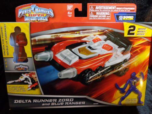 POWER-RANGERS-Super-Megaforce-DELTA-RUNNER-ZORD-BLUE ...