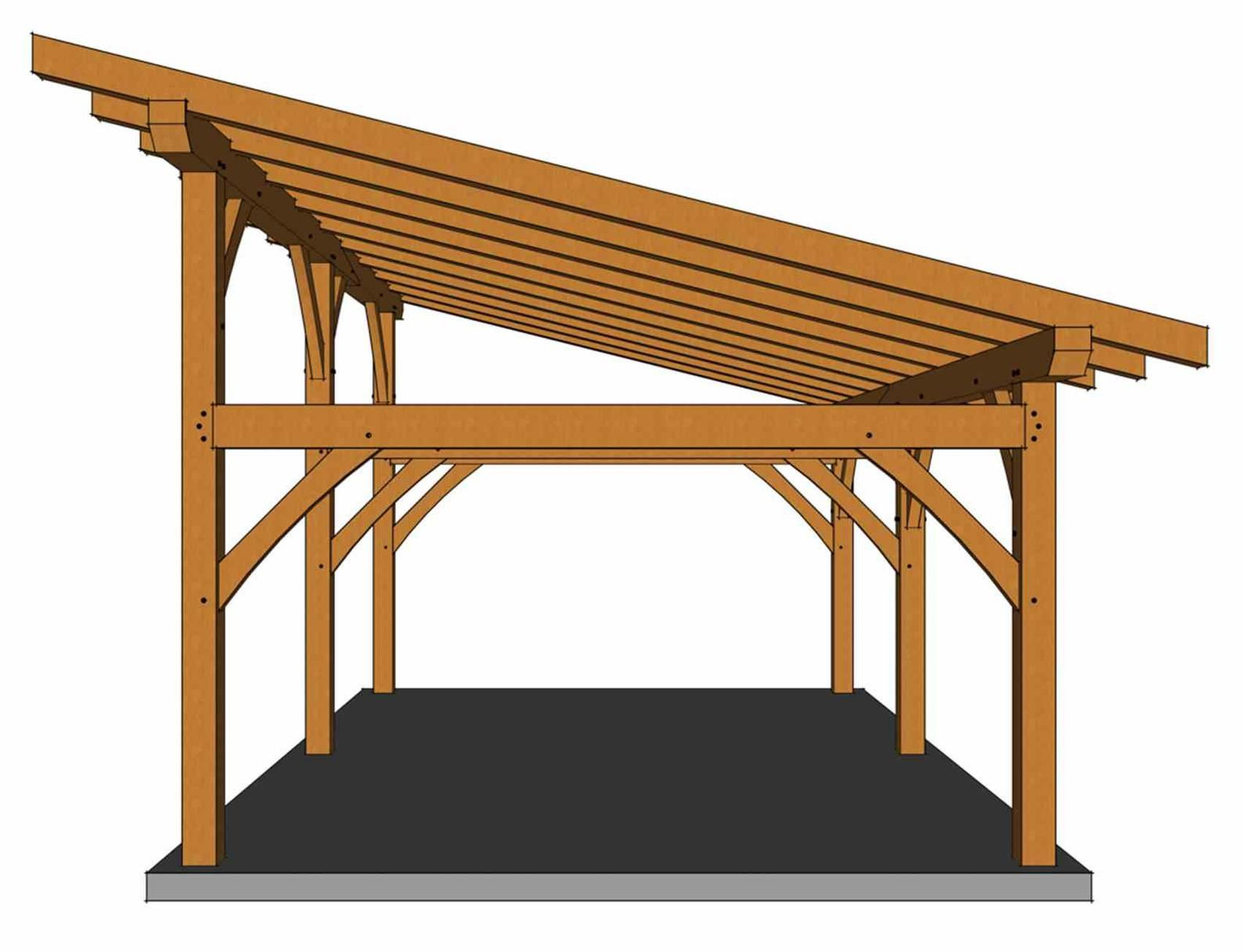 1624 Shed Roof Plan Etsy In 2020 Shed Roof Roof Plan Pavilion Plans