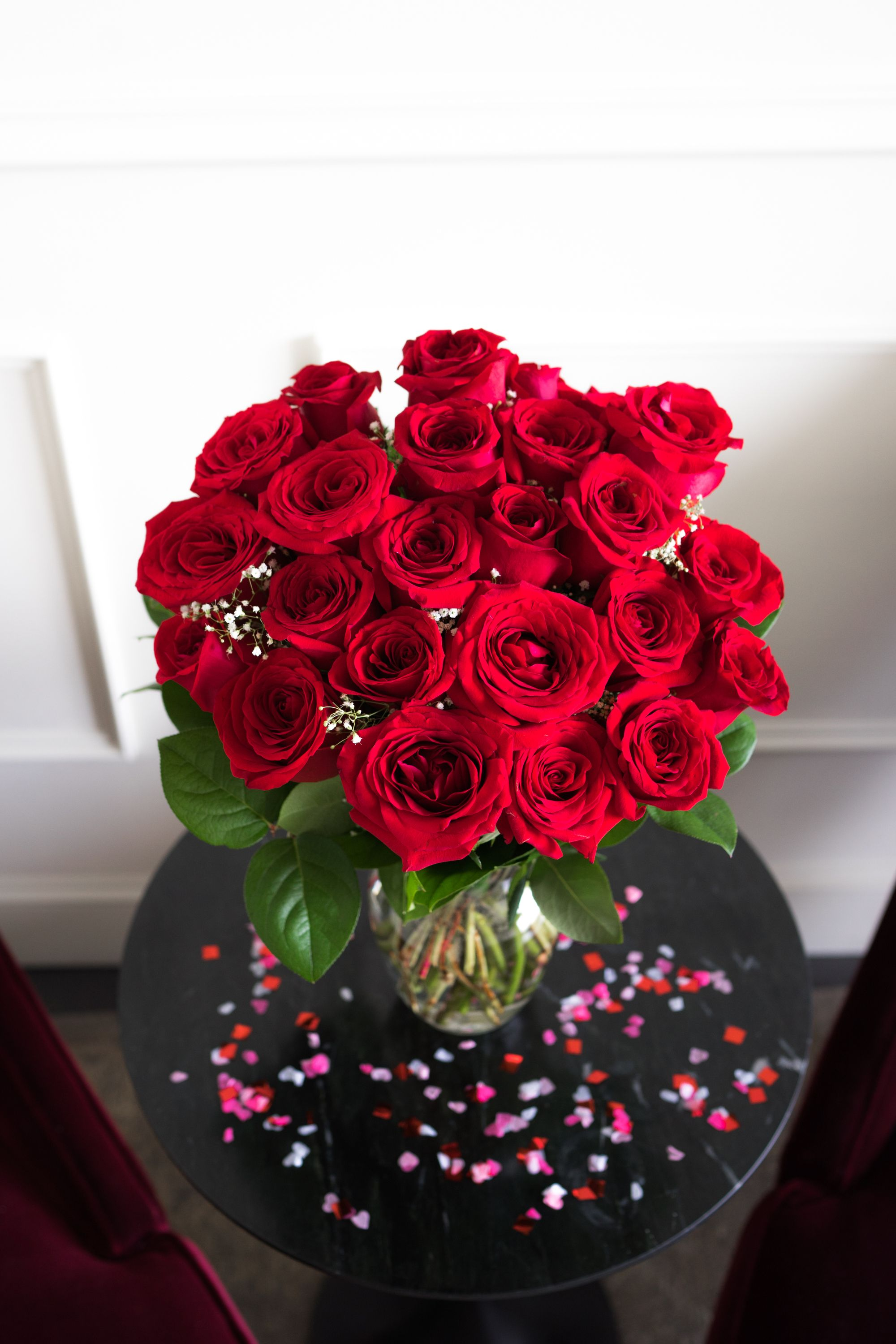 One Dozen Long Stemmed Red Roses at From You Flowers in