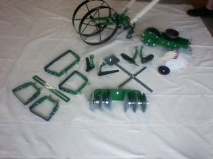Package 8 Deluxe Hoss Tools Garden Double Wheel Hoe Push Plow | EBay
