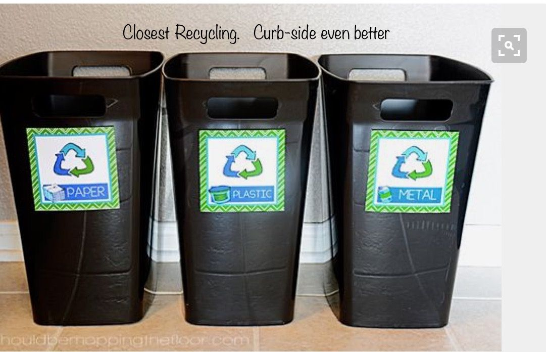 Pin by The Birthday Girl on House Preview Recycling bins
