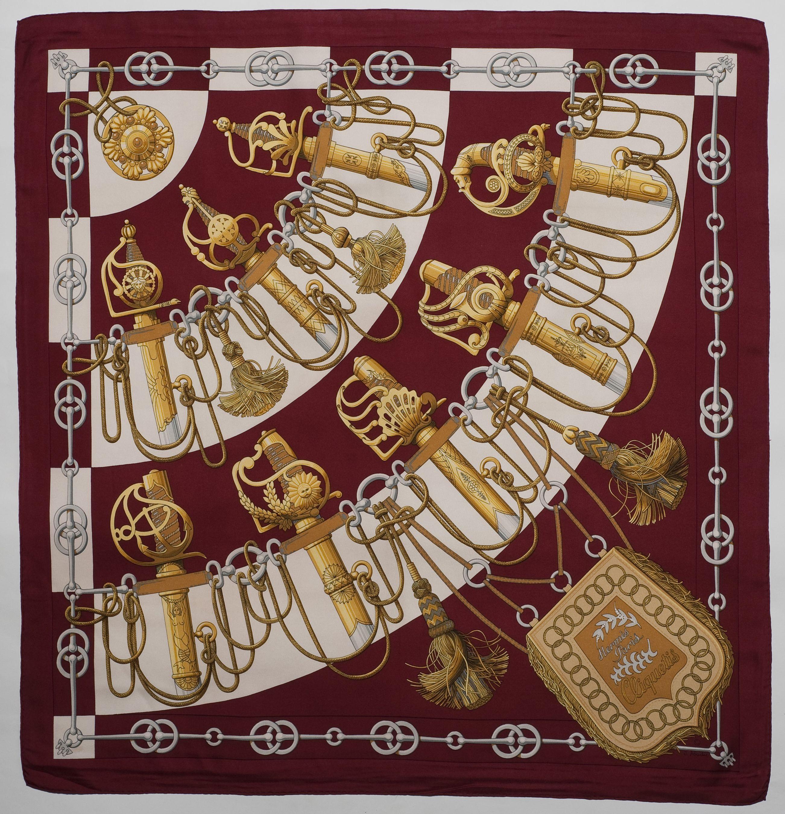 Cliquetis   apaszki   Pinterest   Hermes, Foulards et Route de la soie d63495a2c1a