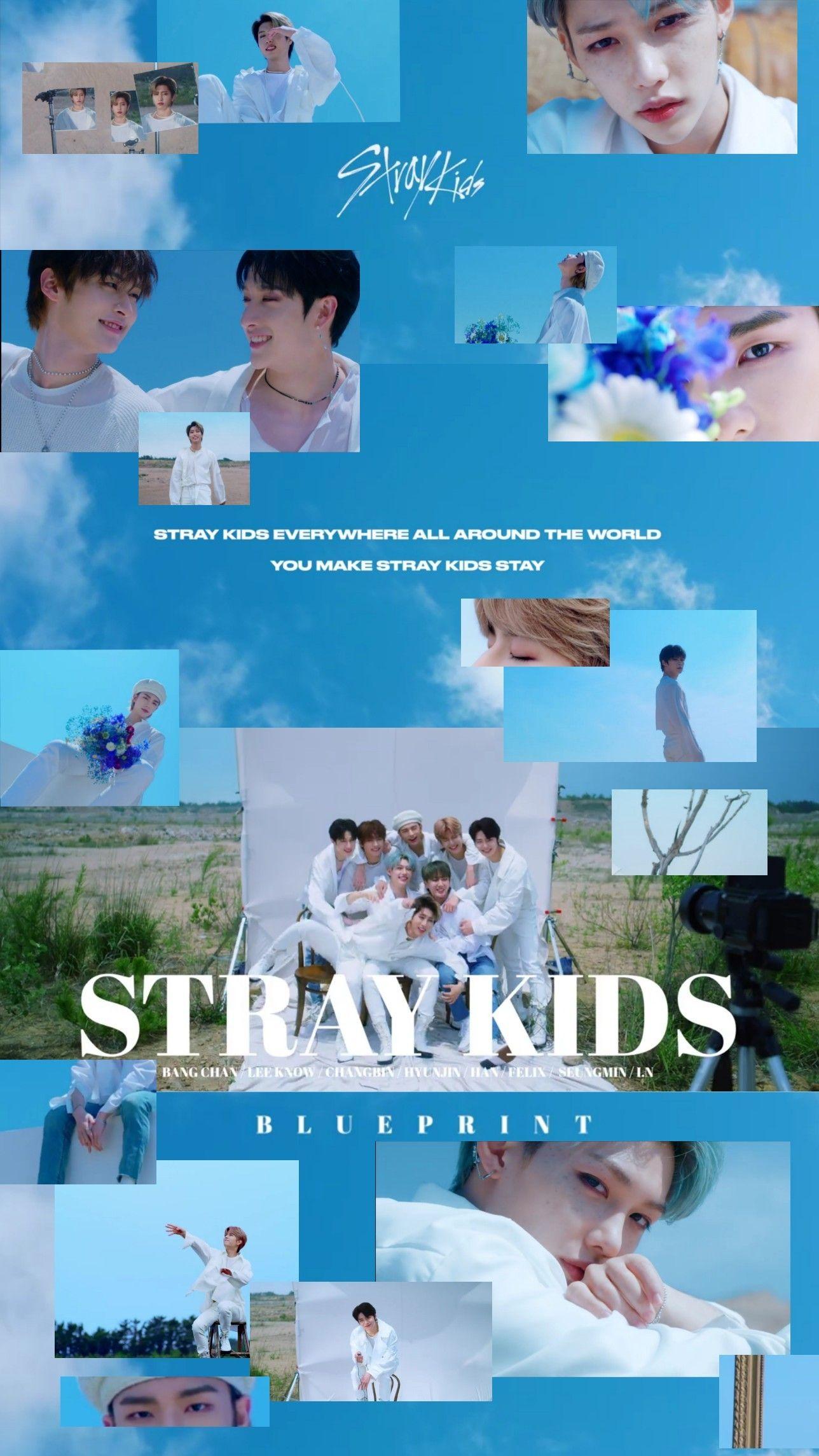 Stray Kids Wallpapers Blueprint In 2020 Kids Wallpaper Kids Mood Kids Background