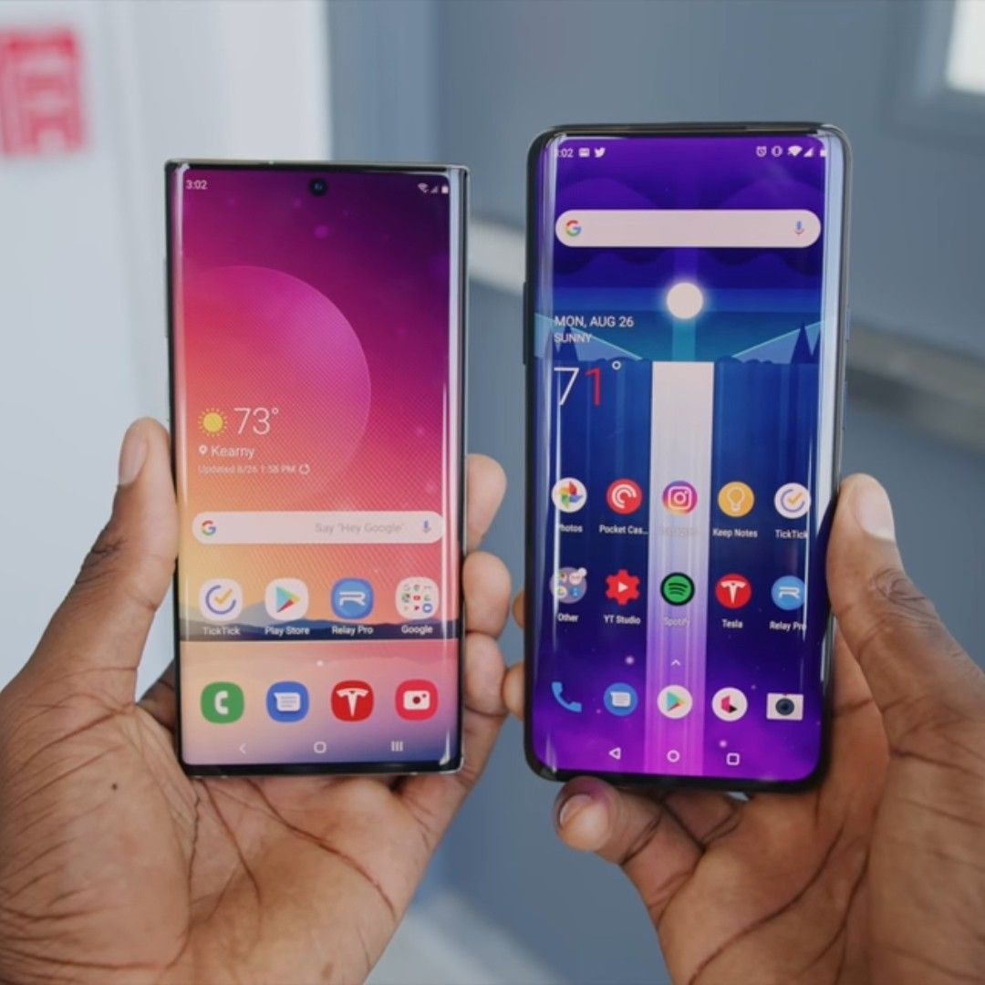 Samsung Galaxy Note 10 plus vs Oneplus 7 pro Samsung
