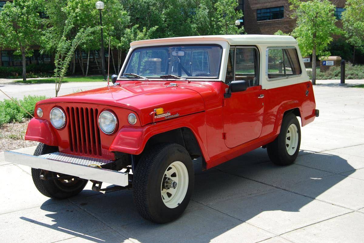 1968 Jeep Commando Wagon For Sale 1846346 Hemmings Motor News