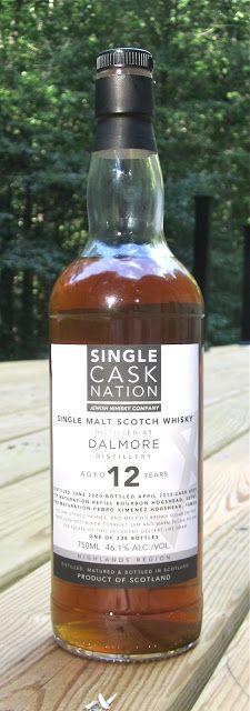 The Single Cask Nation Dalmore 12 Year Old Single Cask Scotch Whisky