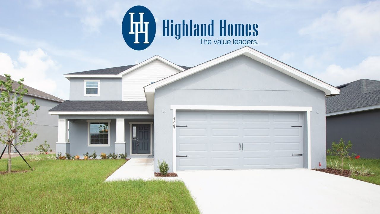 Take A Virtual Tour Of The Wayfair By Highland Homes A Florida New Home Designed For Your Life The Wayfair Boa Highland Homes Florida Home Open Space Living