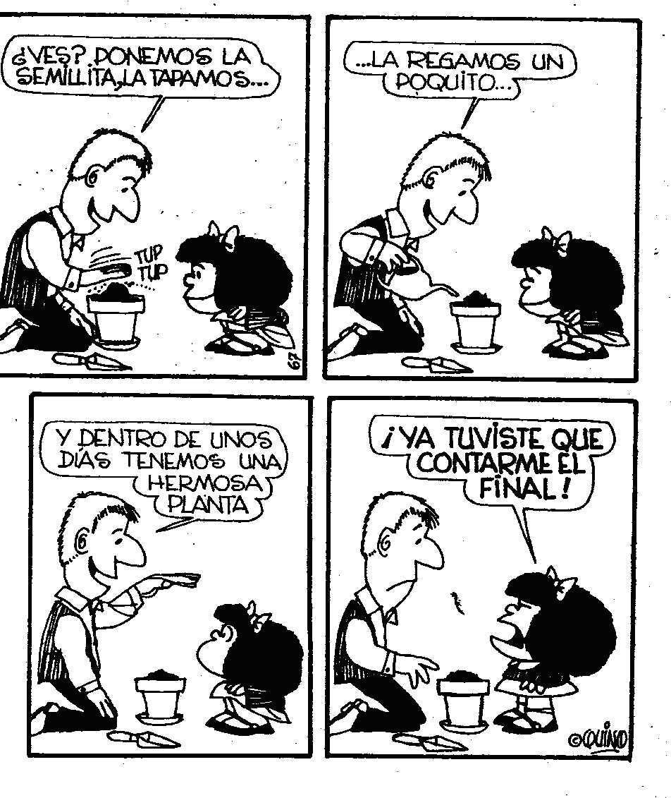 Primera tira de Mafalda | Mafalda quotes, Funny comics, Funny quotes