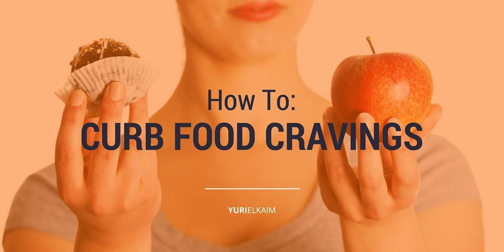 2 Simple Steps to Reprogram Your Taste Buds and Curb Food Cravings -- Almost everyone deals with food cravings in some form... even me! Here's how you can ditch those annoying and harmful cravings once and for all. | Yuri Elkaim