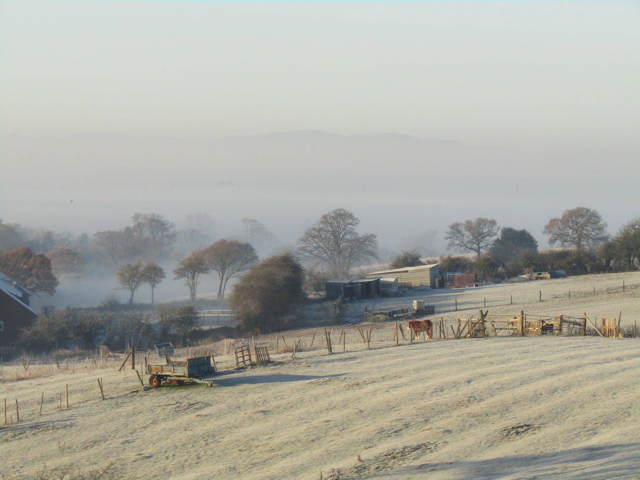 Winters morning in Astwood Bank