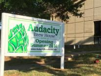 Audacity Brew House - Welcome!  Dropping by to meet these guys today.