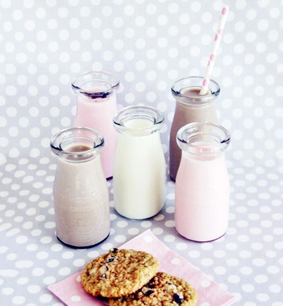 Vegetarian milk bottle sweets recipes