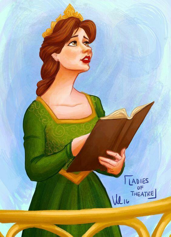 Pin By Kyra On Musical Fanart Fiona Shrek Musical Art Princess Fiona