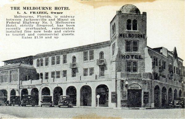 The Melbourne Hotel Florida