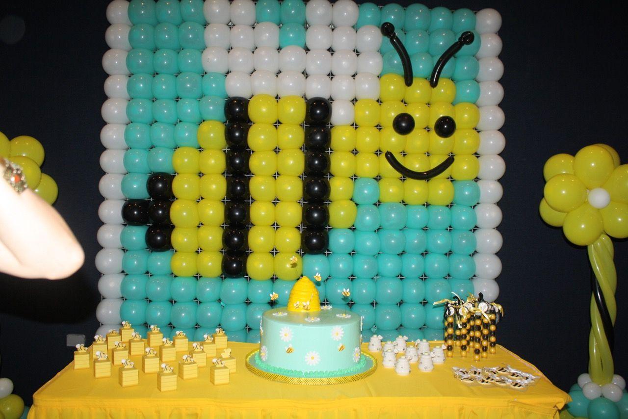 Decoration by #AquaMundo Dominican Republic | Bumble Bee Birthday ...