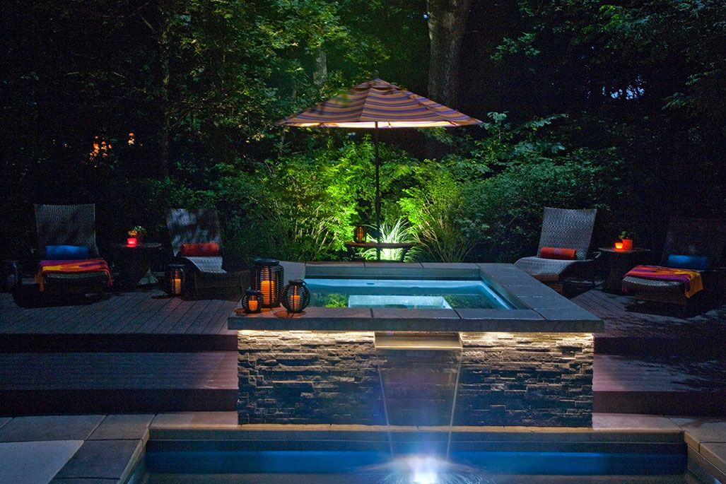 Outdoor Swimming Pool Built In Highland Park Il By