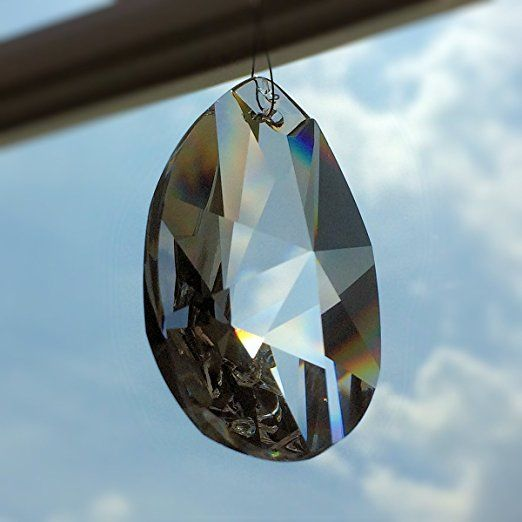 Kristall Wachtel 50mm 3 Stück Sternmuster Tropfen Pendel ...