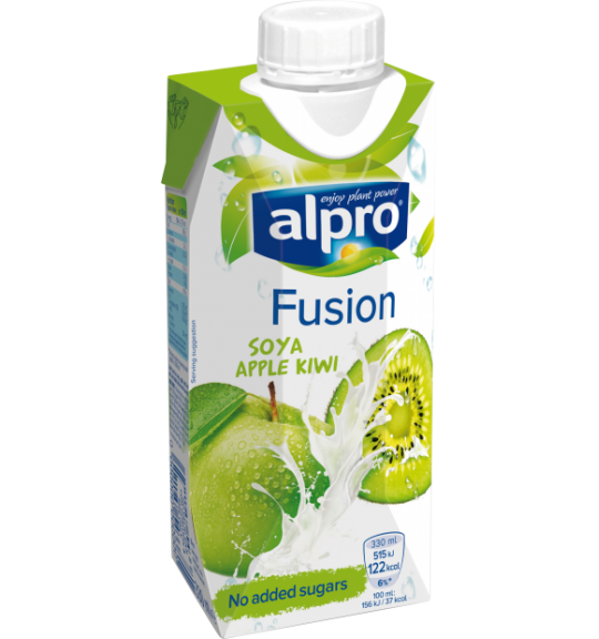 Alpro Alpro Drinks Fusion Soya Apple Kiwi Drinks Alpro Alpro Soya