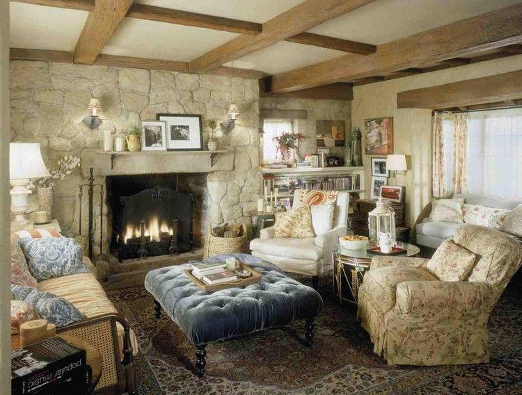 Decoration Style Anglais En 25 Idees Et Conseils Pour Une Ambiance Chic Decorations Interieurs De Cottage Anglais Interieurs Cottage Salons Cottage