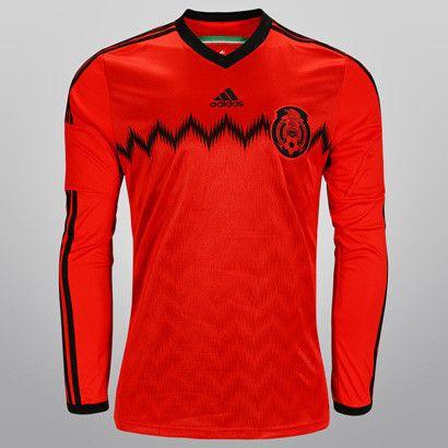 d3f12e09e51eb Jersey Visitante Selección Mexicana de Fútbol - Manga Larga SUPER OFERTA   349.00