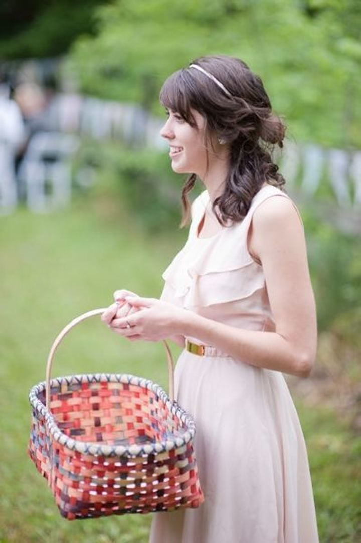 Blush Bridesmaid | fabmood.com #farmwedding #rusticwedding #weddingideas #weddinginspiration #rustic