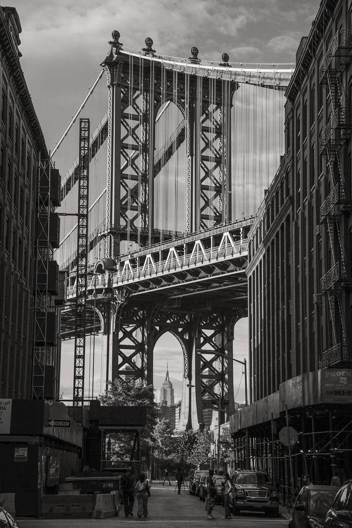 Empire State Building Eye Of Manhattan Bridge Art