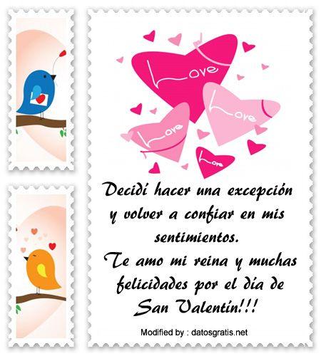 los mejores mensajes y tarjetas del dia del amor y la amistad,descargar bonitas dedicatorias del dia del amor y la amistad: http://www.datosgratis.net/gratis-mensajes-de-san-valentin-para-mi-pareja/