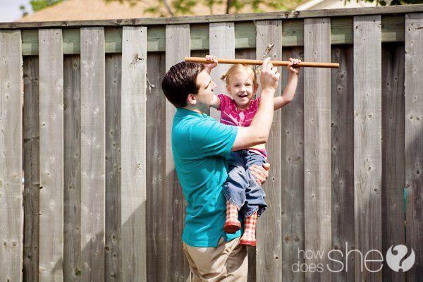 Build Your Own Zip Line in your Backyard!