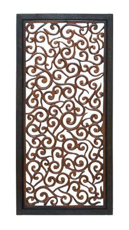 $67 Deco 79 Wood Wall Panel, 51 by 24-Inch